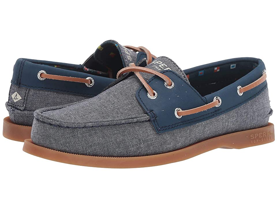 Sperry Kids Authentic Original (Toddler/Little Kid/Big Kid) (Chambray) Kids Shoes