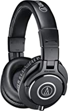 Audio-Technica ATH-M40x Professional Studio Monitor Headphone, Black, With Cutting Edge Engineering, 90 Degree Swiveling E...