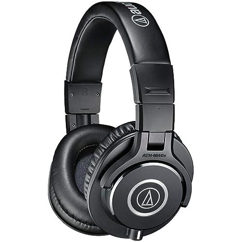 Audio-Technica ATH-M40X Casque audio professionnel avec câble détachable Noir