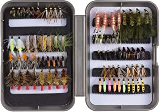 Bassdash Fly Fishing Flies Kit Fly Assortment Trout Bass...