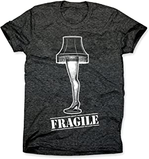 Christmas Story Fragile Shirt, Funny Christmas T-Shirt, FRA-GEE-Lay Leg Lamp Tshirt, Mens Unisex Tee