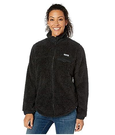 Columbia Harborsidetm II Heavyweight Fleece Full Zip (Black) Women