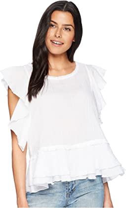 Ruffled Sleeve Shirt