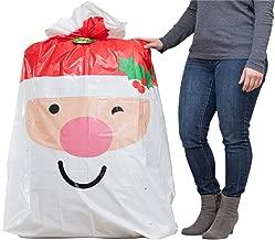 Hallmark Jumbo Christmas Gift Bag (Extra Large Santa Bag for Big Presents)