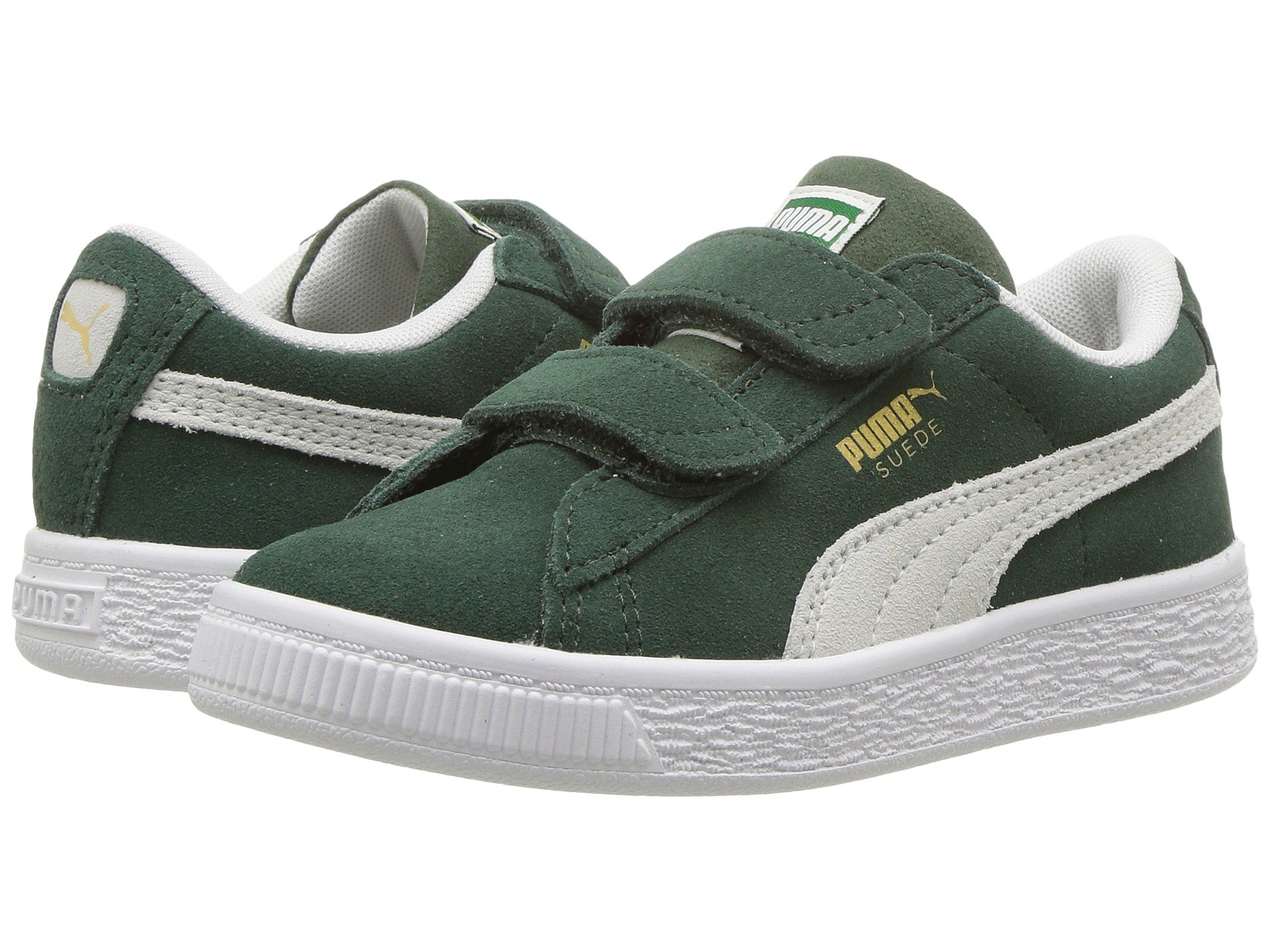 Suede Classic V (Little Kid). Puma Kids