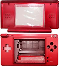 OSTENT Full Repair Parts Replacement Housing Shell Case Kit Compatible for Nintendo DS Lite NDSL Color Red