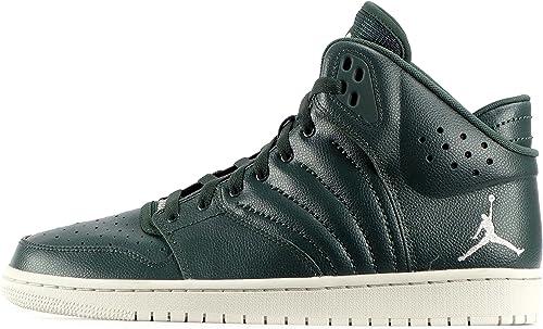 Nike Jordan 1 Flight 4, Hausschuhe de Baloncesto para Hombre