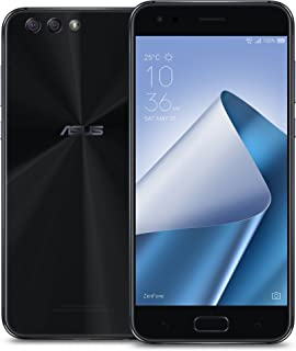 ASUS ZE554KL-S630-4G64G-B ZenFone 4 5.5-inch FHD IPS 4GB RAM, 64GB storage LTE Unlocked Dual SIM Cell Phone, US Warranty, Midnight Black