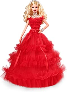 Barbie 2018 Holiday Doll, Blonde