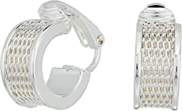 LAUREN Ralph Lauren - Half Round Huggie Clip Earrings