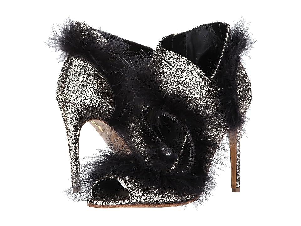 Rupert Sanderson Ice Queen (Platinum Tweed Laminate) High Heels