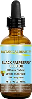 BLACK RASPBERRY SEED OIL. 100% Pure / Natural / Undiluted / Virgin / Unrefined / Cold Pressed Carrier oil. ...