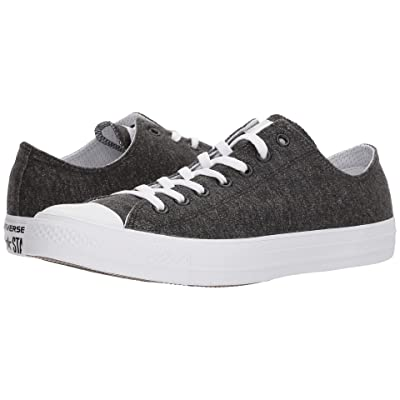 Converse Chuck Taylor(r) All Star(r) Essential Terry Ox (Black/White/White) Shoes