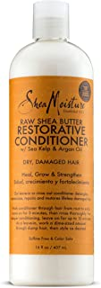 SheaMoisture Raw Shea Butter Restorative Conditioner | Family Size | 16 fl.oz | Packaging may vary