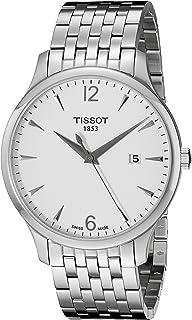 Tissot Men's T0636101103700 Tradition Round Silver-Tone Bracelet Watch