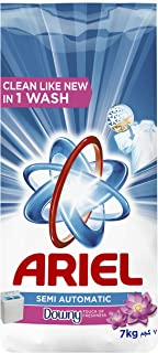 Ariel Powder Laundry Detergent, Touch of Freshness Downy, 7KG