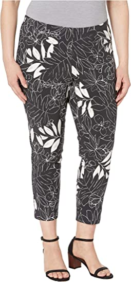 Plus Size Leaf Piper Pants