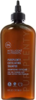 Intelligent Nutrients PurePlenty Exfoliating Shampoo - Non-Toxic Scalp Exfoliating Shampoo with Plant Stem Cells for Fine & Thinning Hair (8 oz)