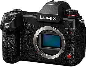 PANASONIC LUMIX S1H Digital Mirrorless Video Camera with 24.2 Full Frame Sensor, 6K/24p Video Recording Capability, V-Log/V-Gamut, and Multi-Aspect Recording