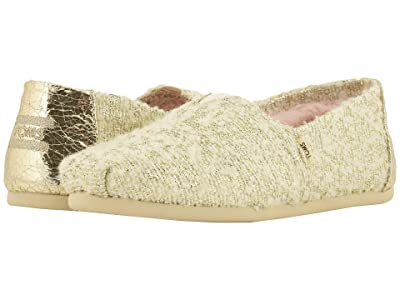 TOMS Alpargata (White Holiday Slub Woven (Vegan)) Women