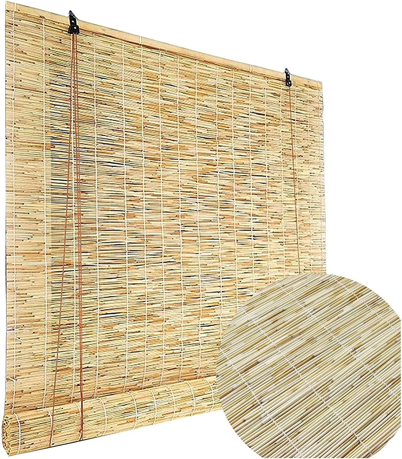 Bamboo Roll Beauty products Up Nashville-Davidson Mall Window Blind Sunscreen Blinds Roller Roman Reed
