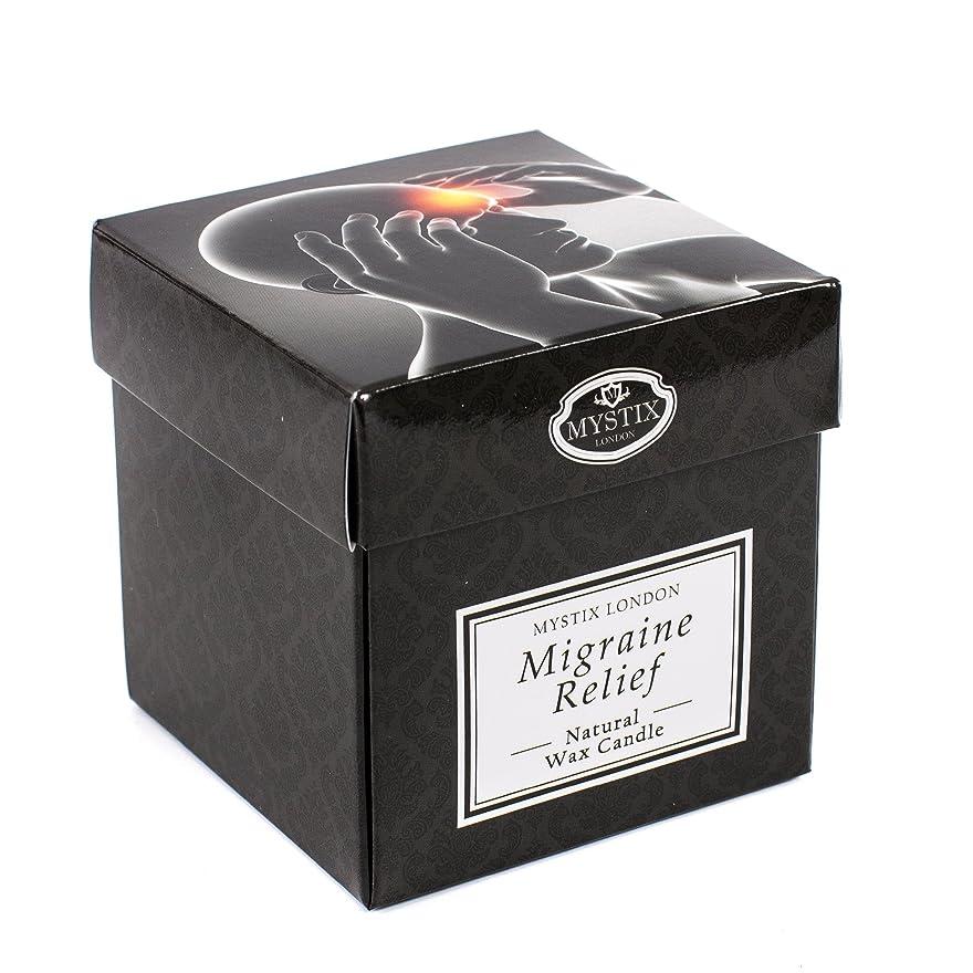 守る発明少ないMystix London | Migraine Relief Scented Candle - Large