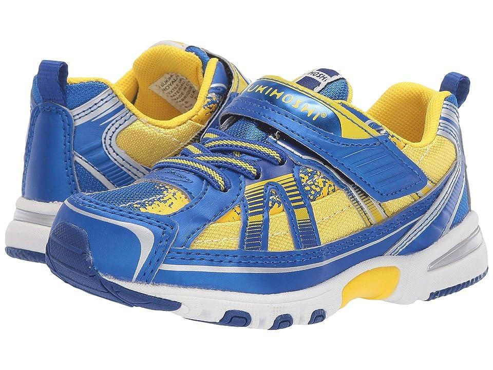 Tsukihoshi Kids Storm (Toddler/Little Kid) (Royal/Gold) Boys Shoes