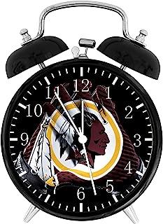 Redskins Black Alarm Desk Clock 4