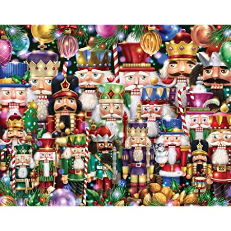 Amazon Com Nutcracker Suite Advent Calendar Countdown To Christmas Home Kitchen