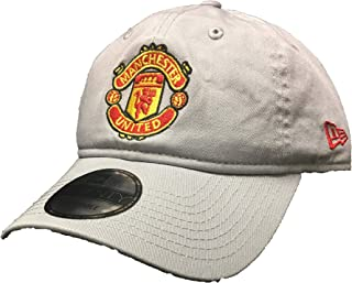 quality design 9951e aed16 Manchester United Adult Gray Shield Adjustable Hat