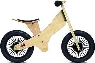 kinderfeets 复古木制平衡自行车