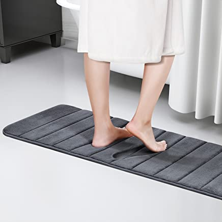 Agreable Lifewit Tapis De Bain En Mousse à Mémoire De Forme 40D Ultra Long Ultra  Doux Absorbant