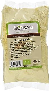 Bionsan Harina de Maíz Ecológica - 6 Bolsas de 500 gr - Total: 3000 gr