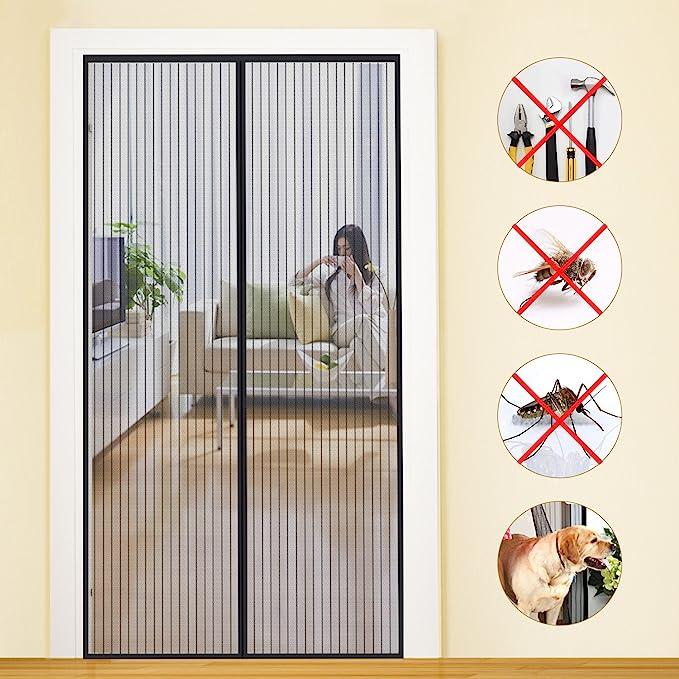 11123 opinioni per MYCARBON Zanzariera Magnetica Adesivo 110*220cm Zanzariera Porta Finestra