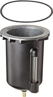 Parker BK605WB Zinc Bowl with Sight Gauge for F602 Series Filter, 16oz Capacity, 250 psig