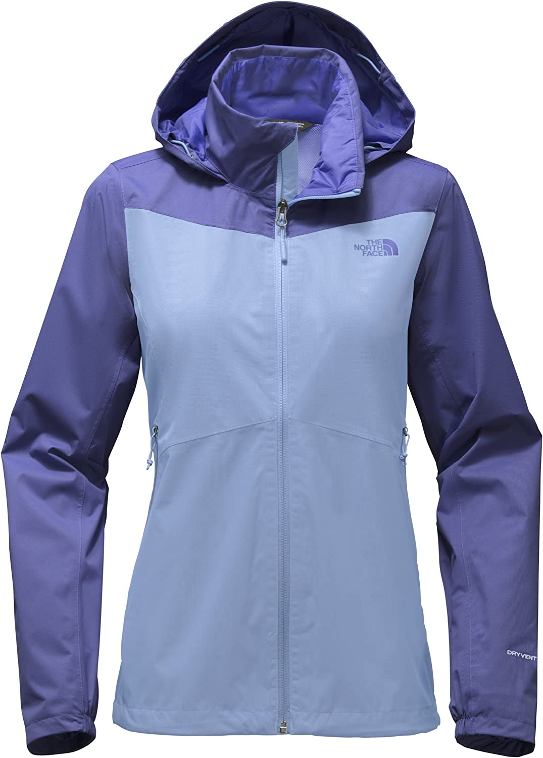 The North Face Women's Resolve Plus Jacket  Collar bluee and Stellar bluee  S