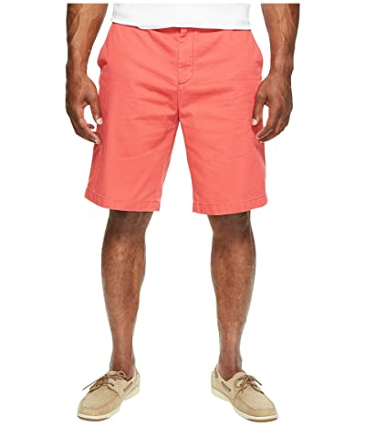 Nautica Big & Tall Deck Short (Sailor Red) Men