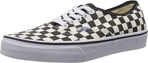 Vans Unisex Authentic (Golden Coast) Black/White Checkerboard VN000W4NDI0 Men's Size 11, Womens 12.5