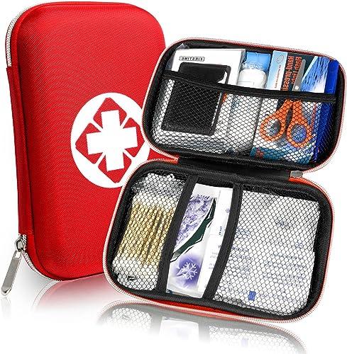 Th-some JAANY Botiquín de Primeros Auxilios de artículos, Survival Tools Mini Box Kit Bolsa Médica para Emergencias p...