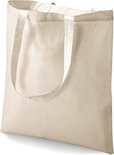 48 Pack (4 Dozen) Wholesale Blank Cotton Tote Bags Bulk Reusable Cotton Reusable Bags Shopping Bags Grocery Bags Promotional Tote Bags Craft Party Supply Bags Customizable Tote Bags (Natural)