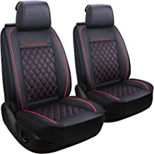 LUCKYMAN CLUB Car Seat Covers for 2 Front Seat Fit Most Sedan SUV Truck Van - Nicely Fit for Kia Sportage Optima Forte Soul Rio NIRO - Airbag Compatible