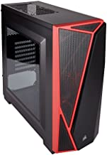 Corsair Carbide Series Spec-04 CC-9011107-WW Windowed Mid-Tower ATX Gaming Computer Case (Black and Red)