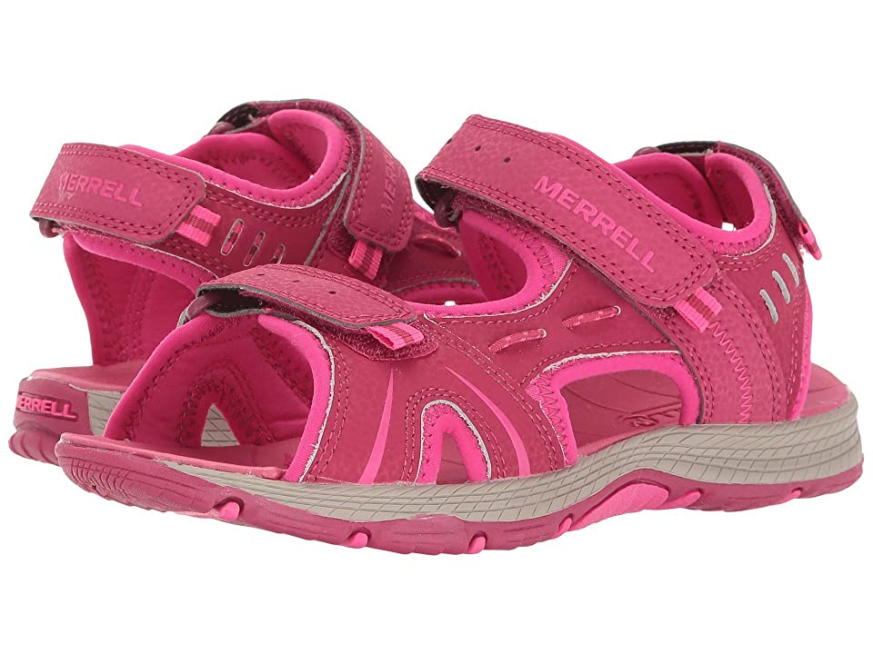 Merrell Kids Panther (Big Kid) (Berry) Girls Shoes