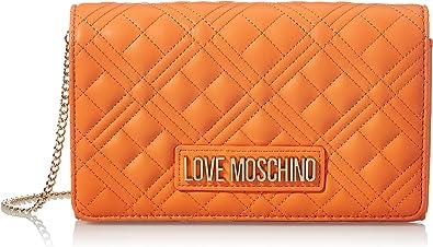 Love Moschino, Borsa A Spalla, Collezione Estate Bolso de hombro, colección Primavera Verano 2021 para Mujer, Rosa, Talla única
