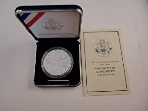 2004 lewis and clark silver dollar proof