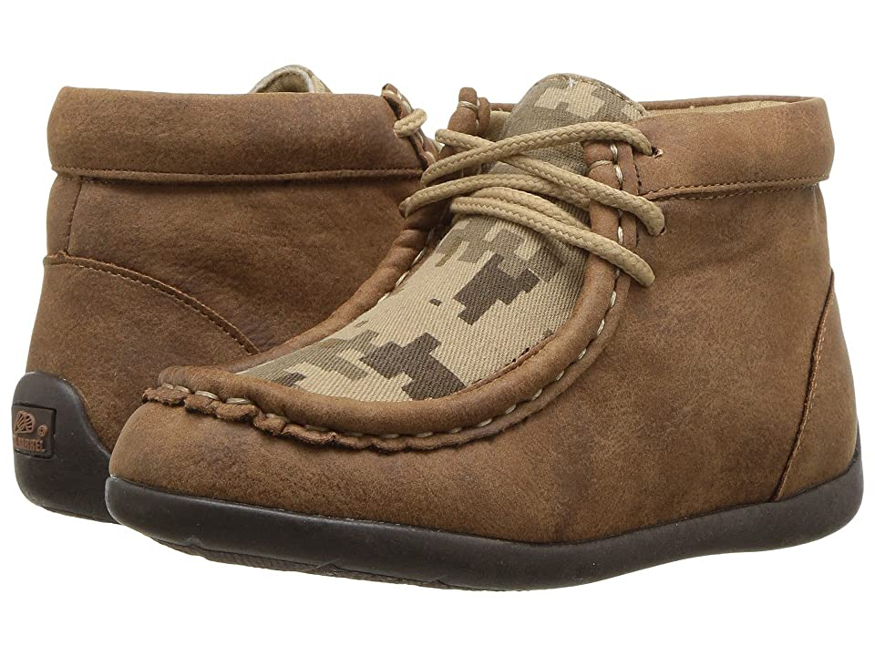 M&F Western Kids Barrett (Toddler/Little Kid) (Tan/Camo) Cowboy Boots