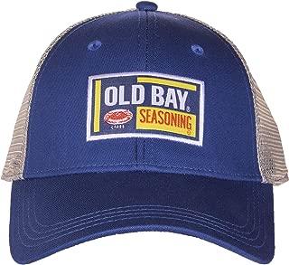 Old Bay Seafood Seasoning Licensed Woven Label Adjustable Baseball Hat Cap