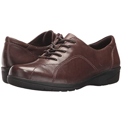 Clarks Cheyn Ava (Dark Brown Leather) Women