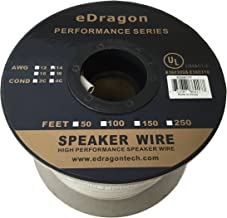 eDragon ED69177 100 Feet 14AWG CL2 Rated 2-Conductor Loud Speaker Cable