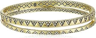 "House of Harlow 1960 Outland Split Bangle Bracelet, 3"""